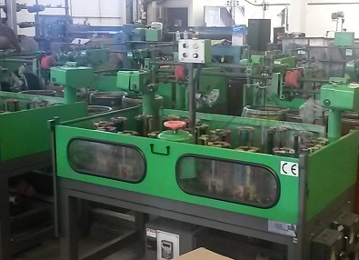 40 spindle braiding machines at Fabmania Ltd